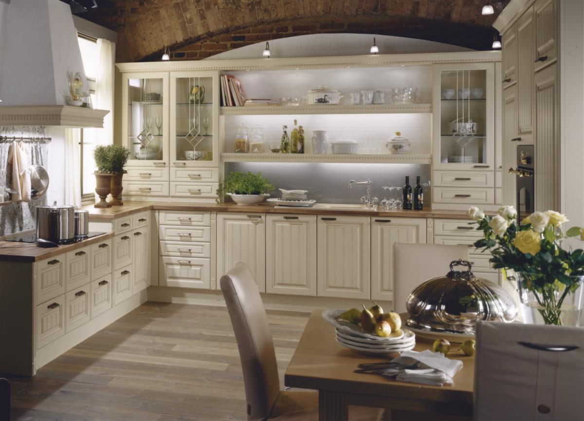 Küche Landhausstil Modern Grau